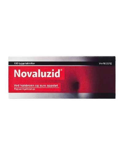Novaluzid tyggetabletter 100stk