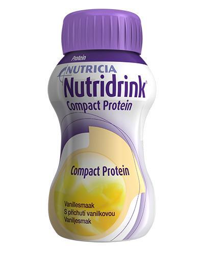 Nutridrink Compact Protein næringsdrikk vanilje 4x125ml