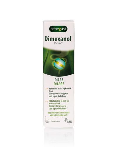 Benegast dimexanol brusetabletter 10stk