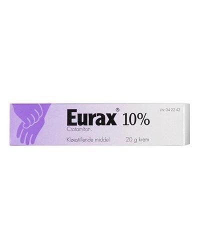 Eurax 10% krem 20g