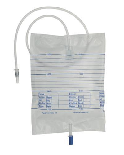 Urinpose m/tappekran 90cm slange 1,5l 200stk