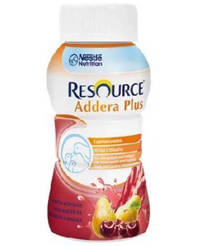 Resource Addera plus, pære & kirsebær 200ml
