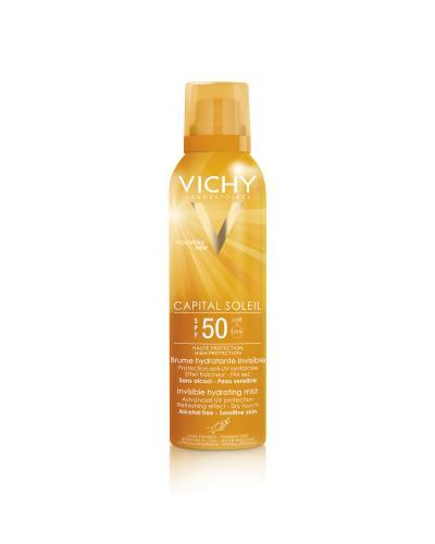 Vichy Capital Soleil fuktgivende mist kropp SPF50 200ml