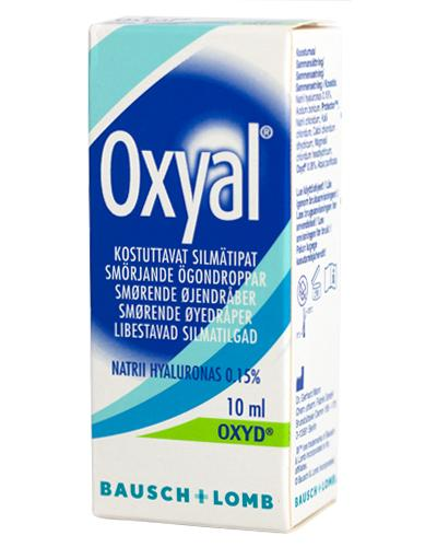 Oxyal øyedråper 10ml