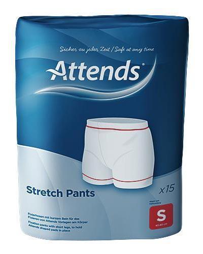 Attends Stretchpants nettingtruse str S 15stk