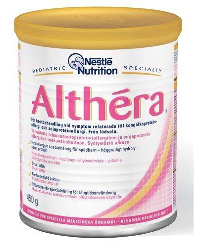 Althéra spesialnæring melkeallergi 450g