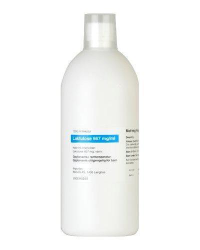 Laktulose 667 mg/ml mikstur 1000ml