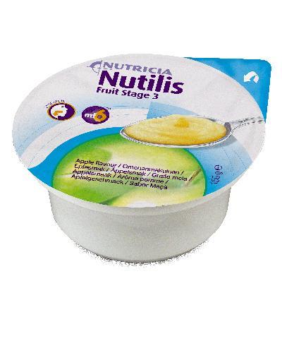 Nutilis Fruit stage 3 fruktpuré eple 3x150g
