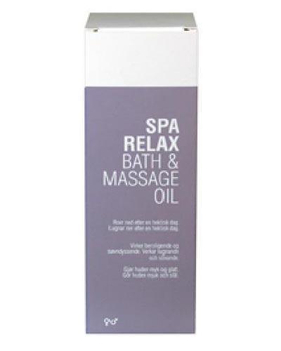 Spa relax bath & massage oil 150ml