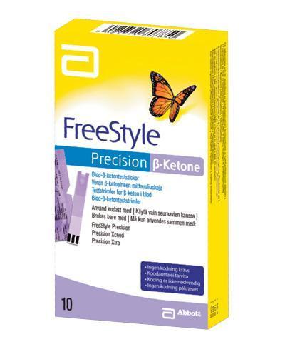 FreeStyle Precision B-ketone teststrimmel 10stk