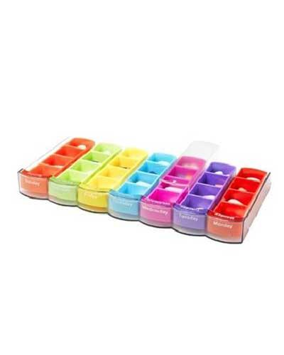 Mininizer colour rack ukesdosett 1stk