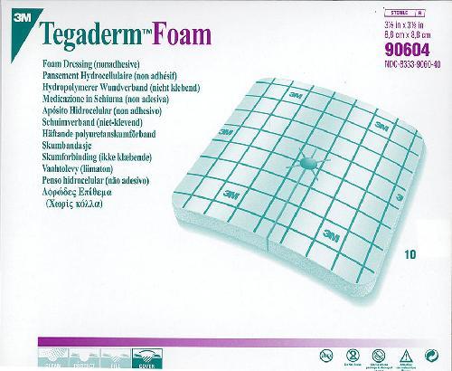 Tegaderm Foam med splitt 8,8,x8cm 10stk
