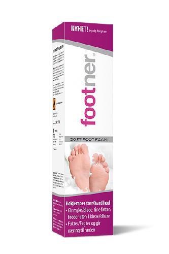 Footner Soft fotskum 100ml