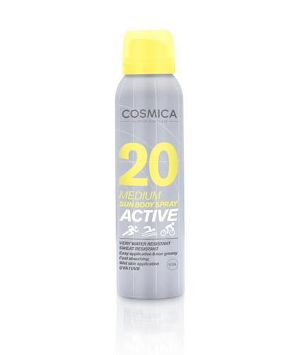 Cosmica active solspray SPF20 125ml