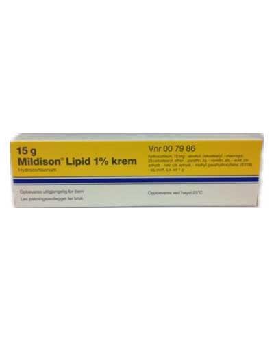 Mildison Lipid 1% krem 15g