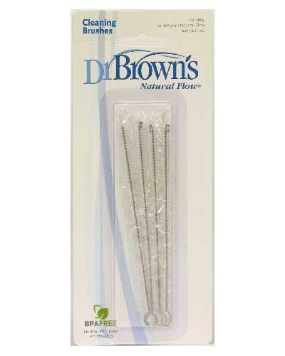 Dr.Browns rengjøringskost 4stk
