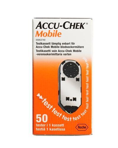 Accu-Chek Mobile testkassett 50stk