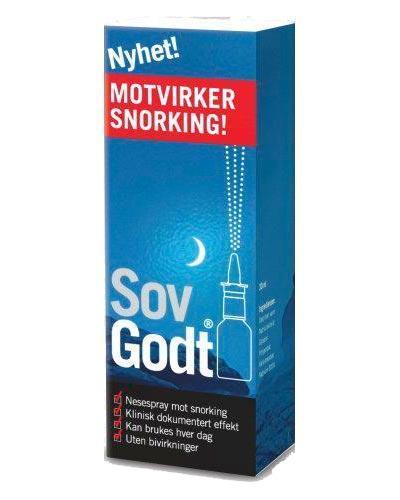 Sov godt anti snork nesespray 30ml