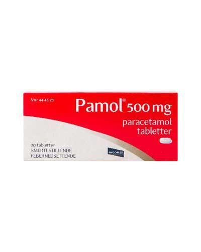 Pamol 500mg tabletter 20stk