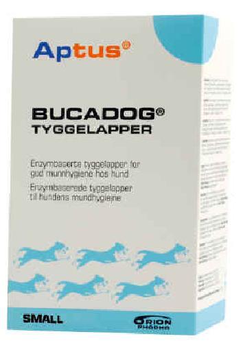 Aptus Bucadog tyggelapper Small til hund 224g