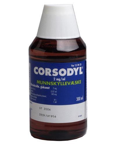Corsodyl munnskyllevæske 300ml