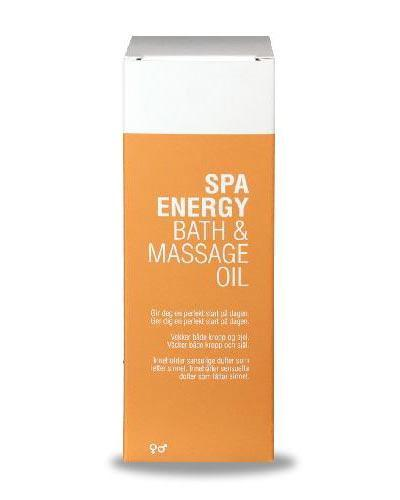 Spa energy bath & massage oil 150ml