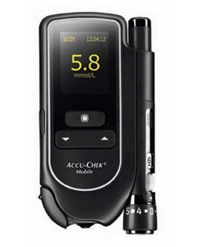 Accu-Chek Mobile blodsukkerapparat u/testkassett 1stk
