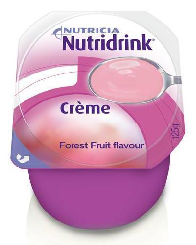 Nutridrink Creme skogsbær 4x125g