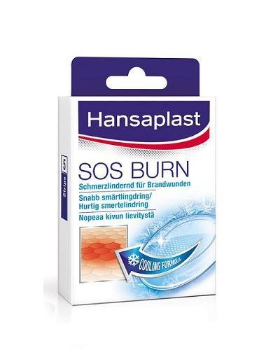 Hansaplast SOS burn plaster 4,5x7,4cm 5stk