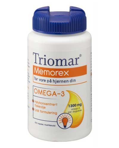 Triomar Memorex omega-3 kapsler 100stk