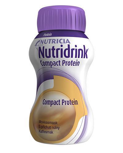 Nutridrink Compact Protein næringsdrikk kaffe 4x125ml