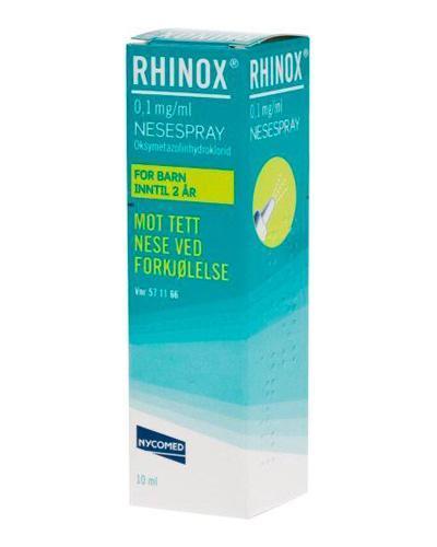 Rhinox 0,1mg/ml nesespray 10ml