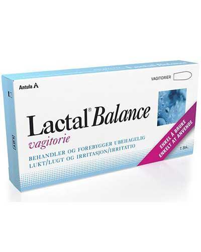 Lactal balance vagitorier 7stk