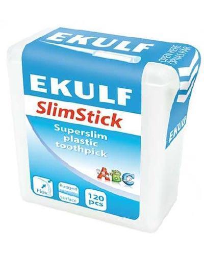 Ekulf SlimStick plasttannstikker 120stk
