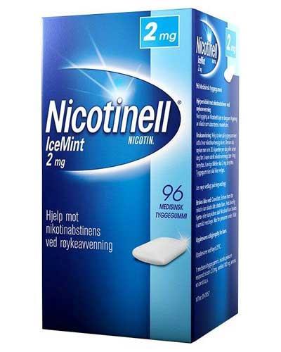 Nicotinell 2mg tyggegummi icemint 96stk