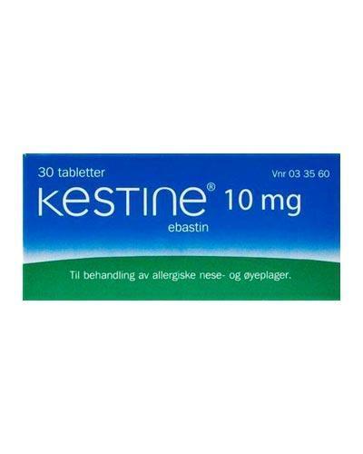 Kestine 10mg tabletter 30stk