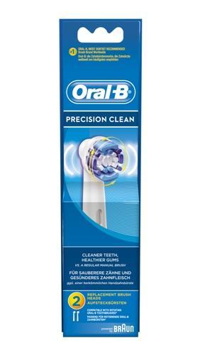 Oral-B precision clean tannbørstehode 2stk