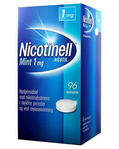 Nicotinell 1mg sugetabletter mint 96stk