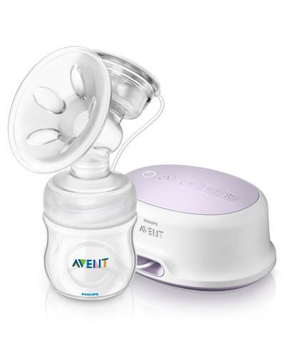 Avent elektrisk brystpumpe natural 1stk