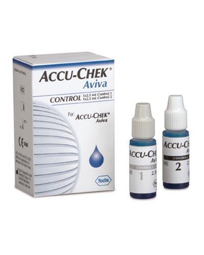 Accu-Chek aviva control 2x2,5ml