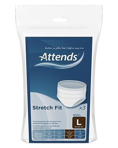 Attends Stretchfit truse str L 3stk