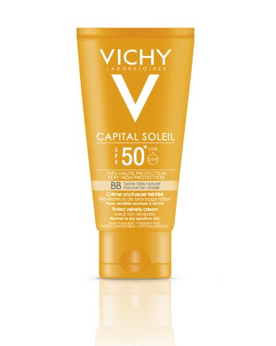 Vichy Capital Soleil BB solkrem nat farge SPF50 50ml