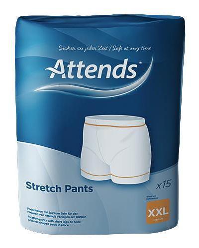 Attends Stretchpants nettingtruse str XXL 15stk