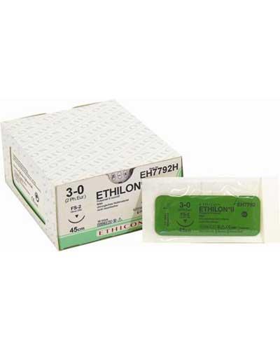 Ethilon sutur EH7144H 4-0 FS2 45cm 36stk