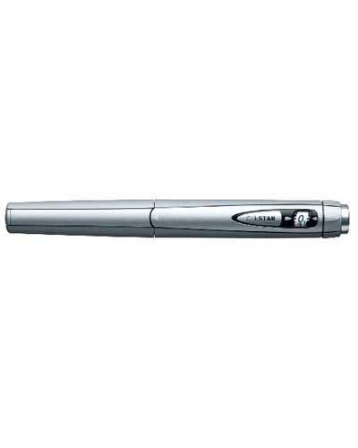 ClikStar insulinpenn sølvfarget 1stk