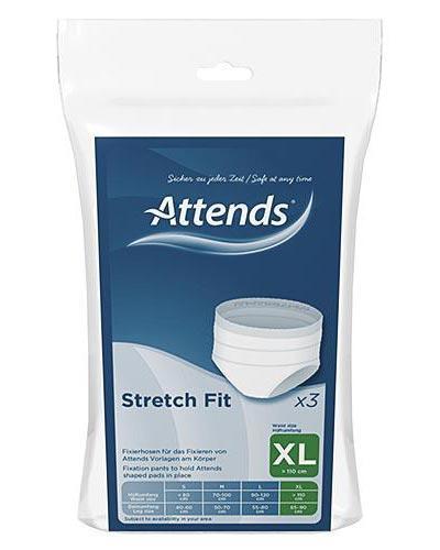 Attends Stretchfit truse str XL 3stk