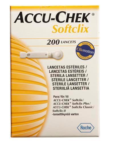 Accu-Chek Softclix lansett 200stk