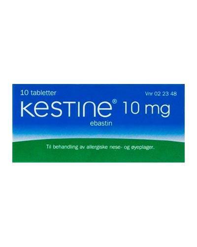 Kestine 10mg tabletter 10stk