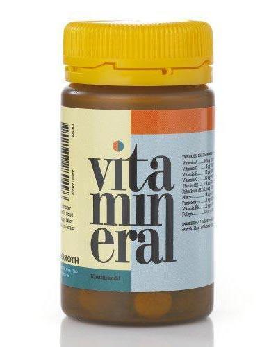 Vitamineral tabletter 100stk