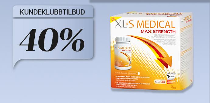 40% på XL-S Medical Max Strength